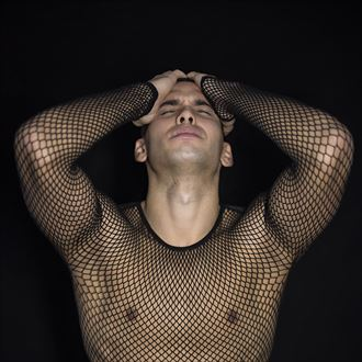 close up emotional photo by model patrick sabel