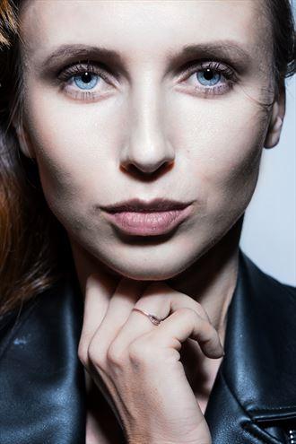 close up portrait photo by model amarutta
