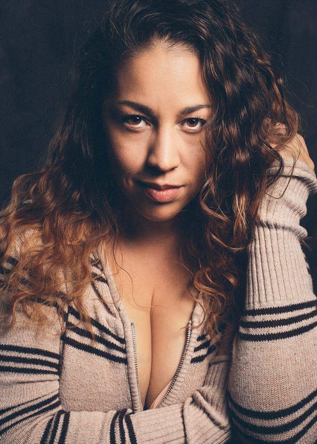 cocoa blaze sensual photo by model nicole marie
