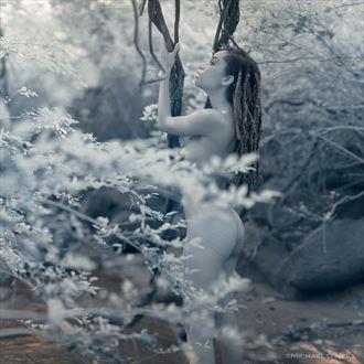 cold fairy abstract artwork by model nura noor