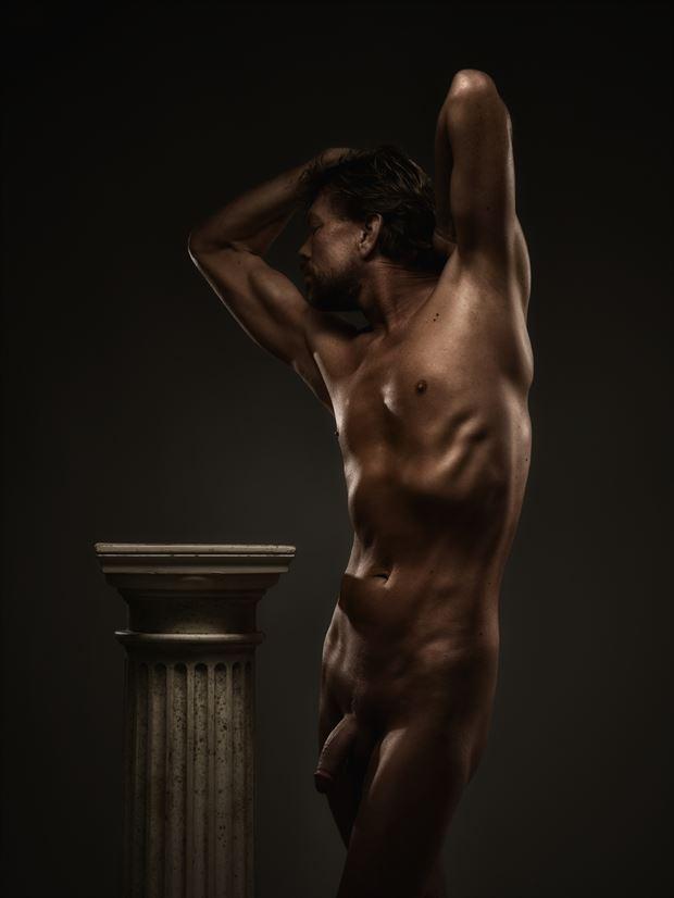 column artistic nude photo by photographer r pedersen