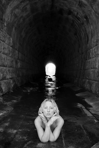 coming out of the dark artistic nude photo by photographer unmasked