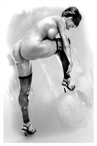 concentration artistic nude artwork by artist derbuettner