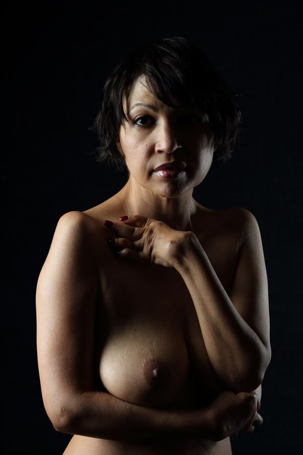 confident artistic nude photo by photographer ab union