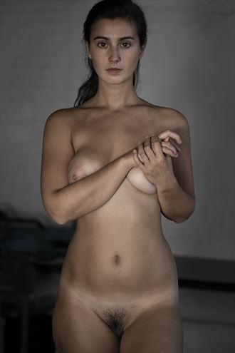 confronting the nude artistic nude photo by photographer jose