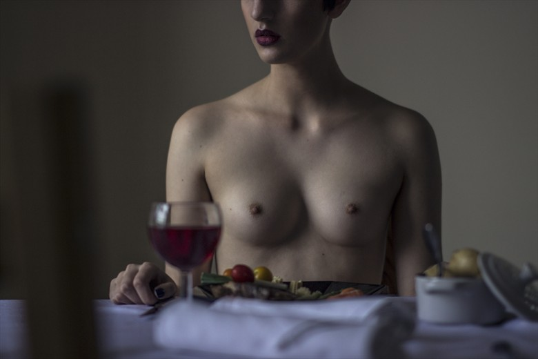 contemplating Artistic Nude Photo by Photographer LisaLeverseidge