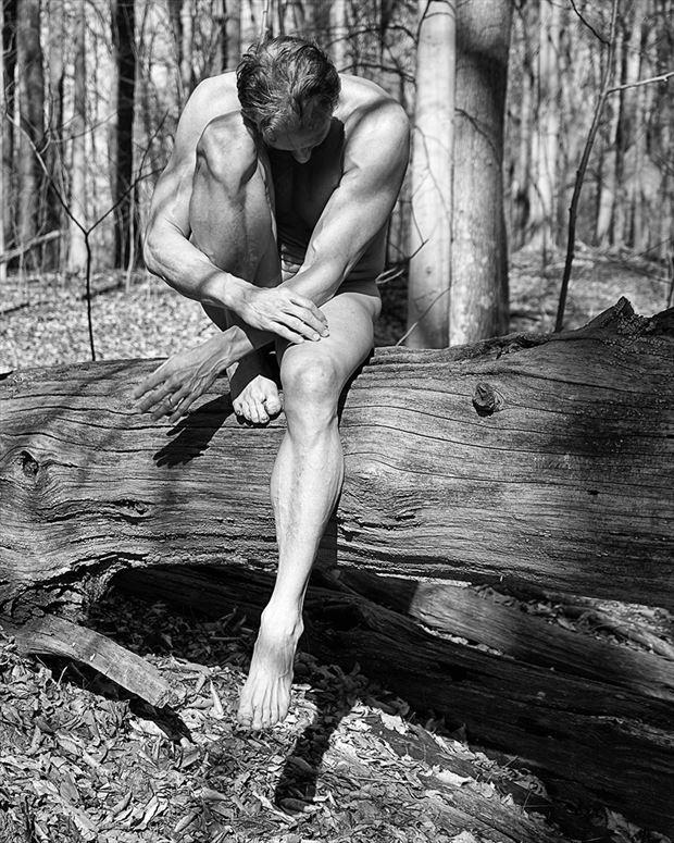 contemplation artistic nude photo by model artfitnessmodel
