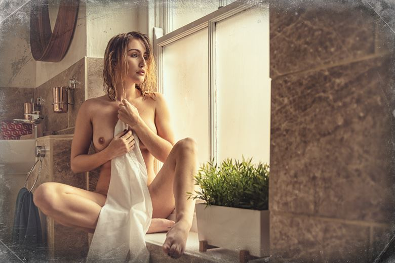 contemplation artistic nude photo by photographer ghost light photo