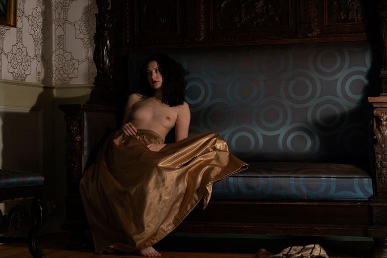 contemplation ii erotic artwork by photographer lene damtoft