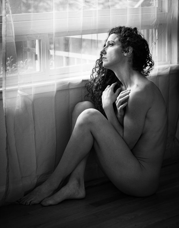 contemplations artistic nude photo by photographer thomas branch