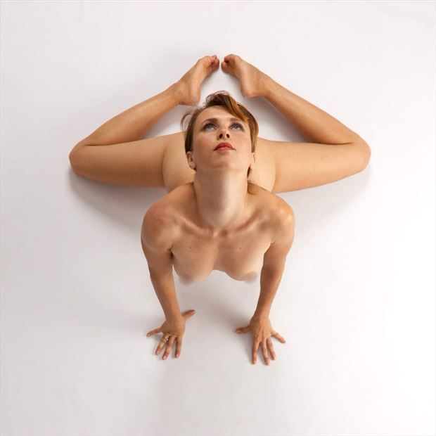 contortions artistic nude photo by model amarutta