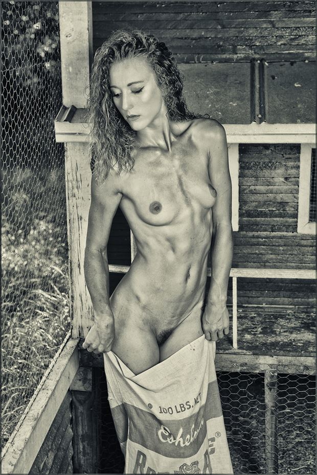 cooped up artistic nude photo by photographer dpaphoto