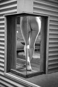 corner window artistic nude photo by photographer alan tower