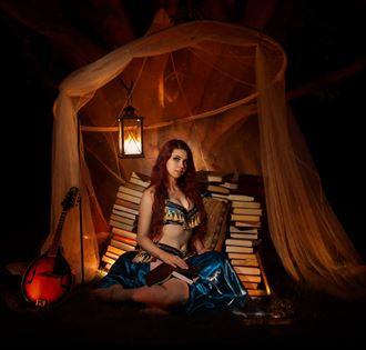 cosplay fantasy photo by model mina salome