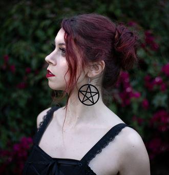 cosplay horror photo by model mina salome