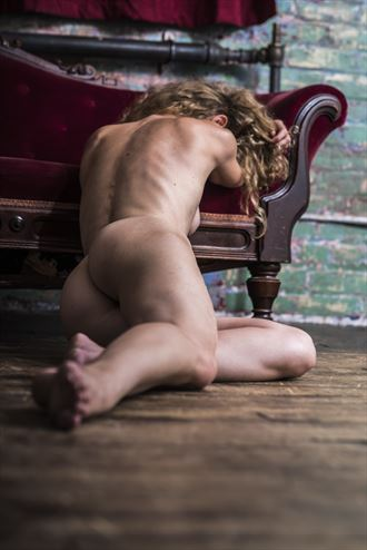 couch artistic nude artwork by photographer mechasean