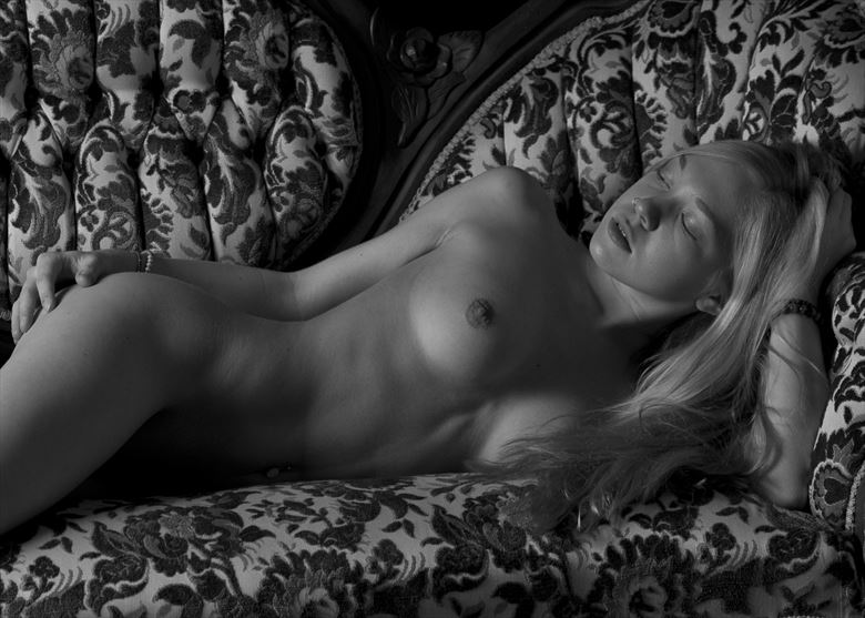 couch artistic nude photo by photographer foxfire 555