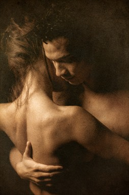 couple Artistic Nude Photo by Artist Gentil
