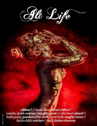 cover alt life magazine with model anastasia barbora artistic nude photo by photographer dcphoto