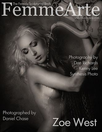 cover femmearte magazine with model zoe west artistic nude photo by photographer dcphoto