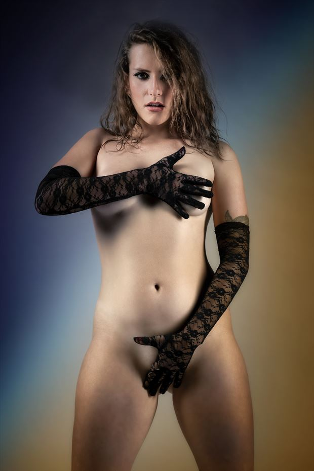 covered erotic photo by photographer ken greenhorn
