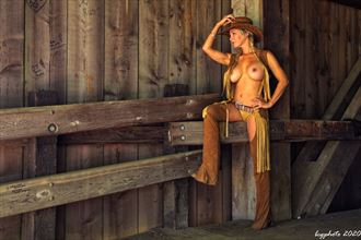 cowgirl bridge 2 artistic nude photo by photographer barry gallegos