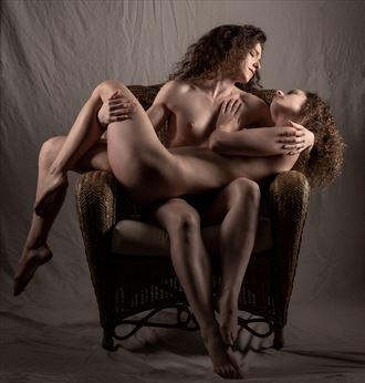 cradled in her arms artistic nude photo by photographer gpstack