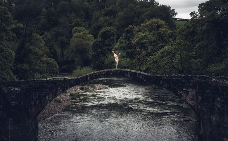 cross that bridge artistic nude photo by photographer neilh