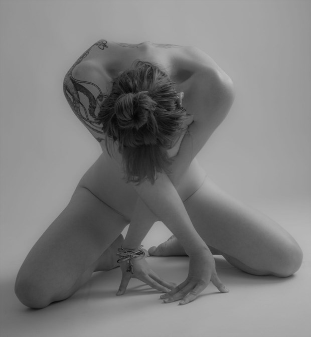 crossed Artistic Nude Photo by Photographer Allan Taylor