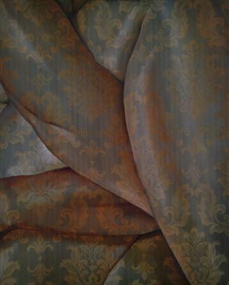 crossed painting or drawing artwork by artist peter ten lohuis