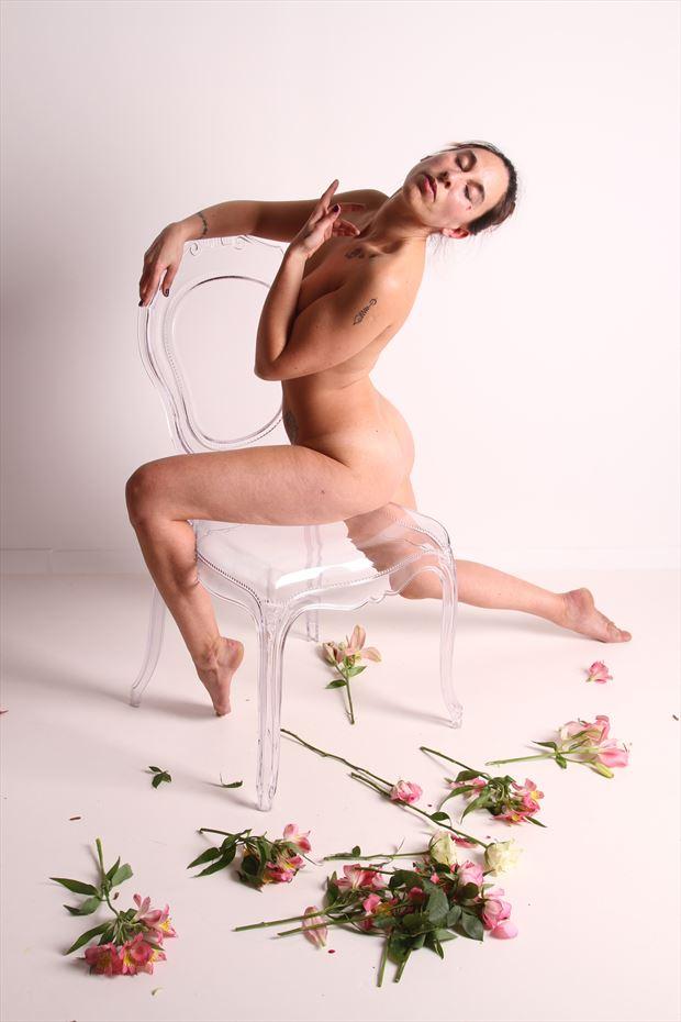 crystal dance artistic nude photo by model iris suarez