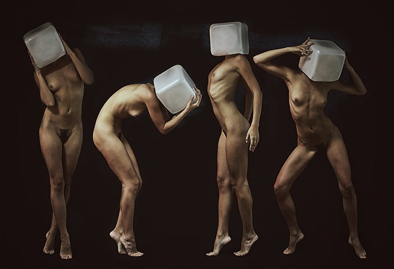 cube Artistic Nude Photo by Artist eldad RELROY