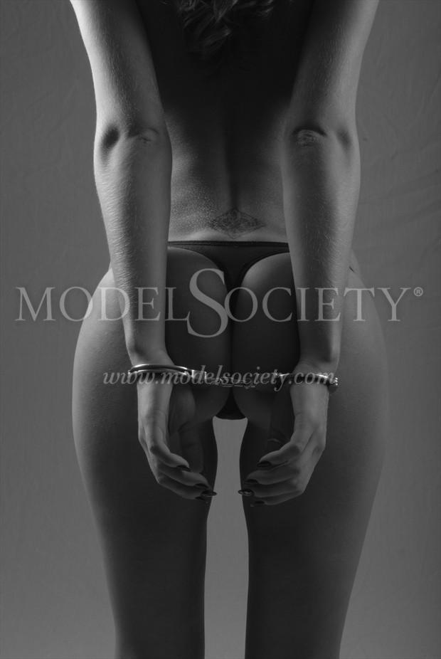cuffed Artistic Nude Photo by Photographer peachjonesphotography