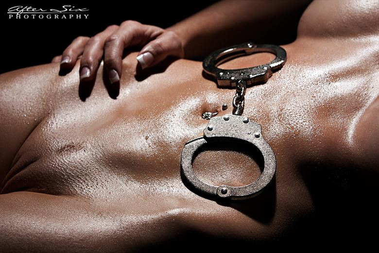 cuffs on artistic nude photo by photographer after six photography