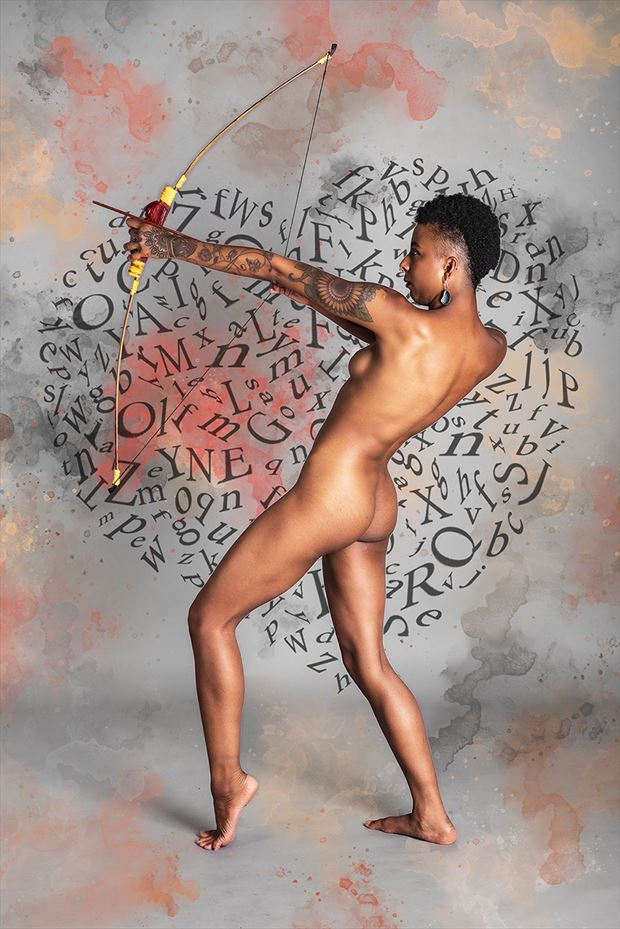 cupid artistic nude photo by photographer paul archer