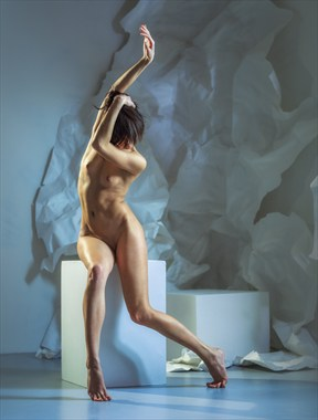 curves Artistic Nude Photo by Photographer dml