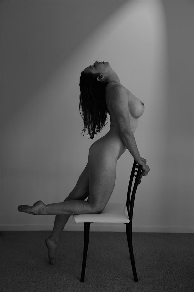 curves artistic nude photo by model shann