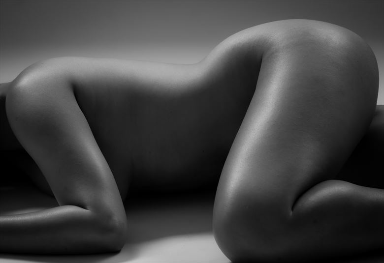 curves artistic nude photo by photographer allan taylor