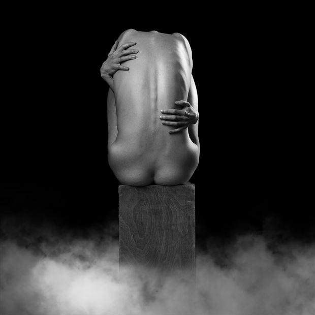 cut off artistic nude artwork by photographer richard byrne