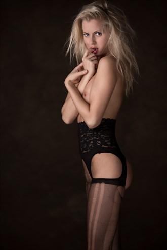 cute Artistic Nude Photo by Model Anna Johansson