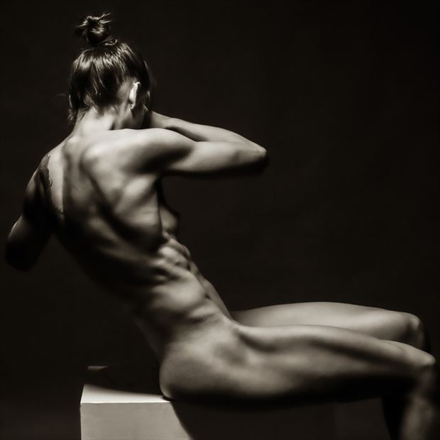 cuts artistic nude photo by model bia