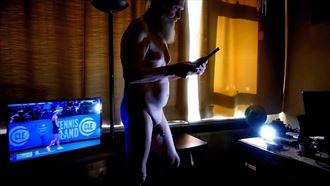daily life artistic nude photo by model gerardm