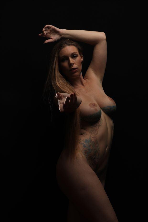 dance artistic nude artwork by photographer gpboyce