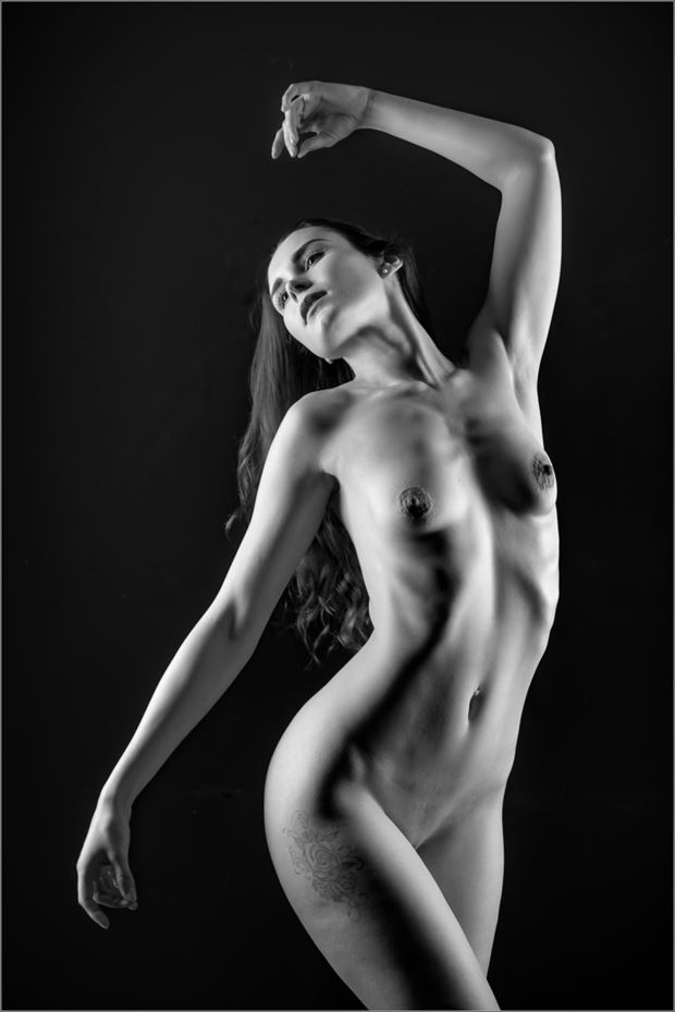 dance like nobody is watching you artistic nude photo by photographer dave belsham