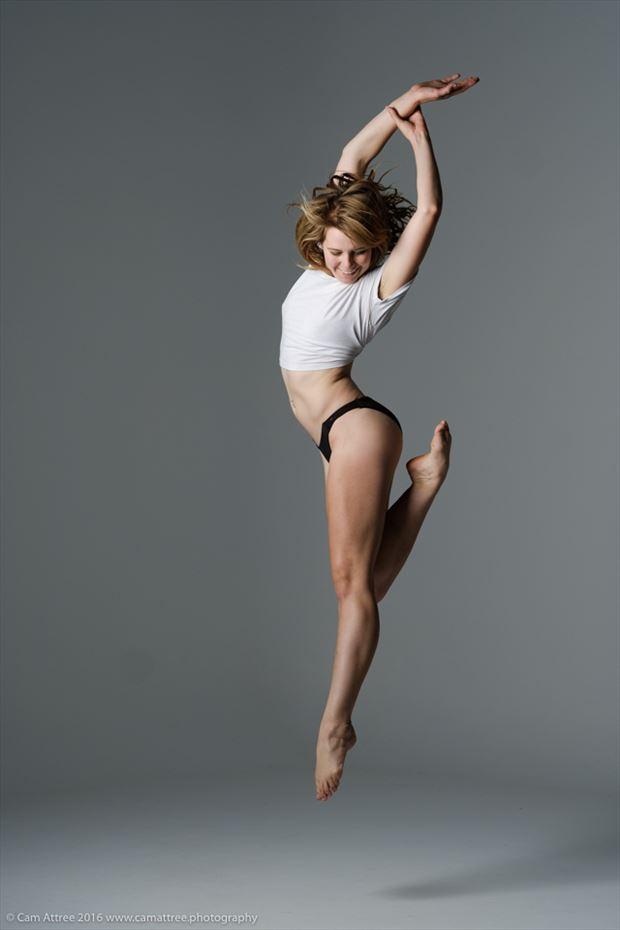 dance studio lighting photo by model riley jade