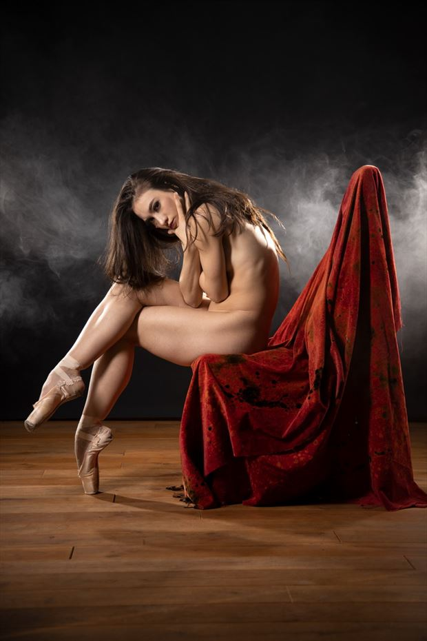 dancer artistic nude artwork by photographer jens schmidt