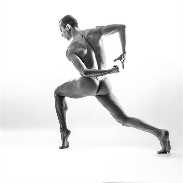 dancer at work artistic nude artwork by photographer jens schmidt