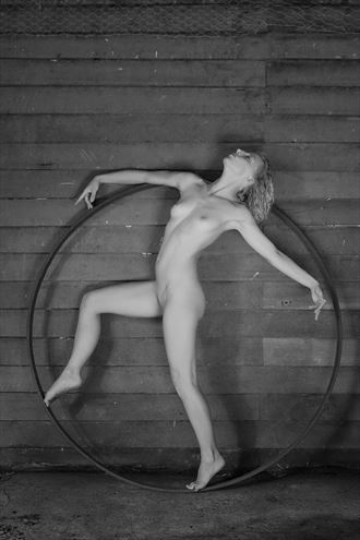 dancer in the circle artistic nude photo by photographer unmasked