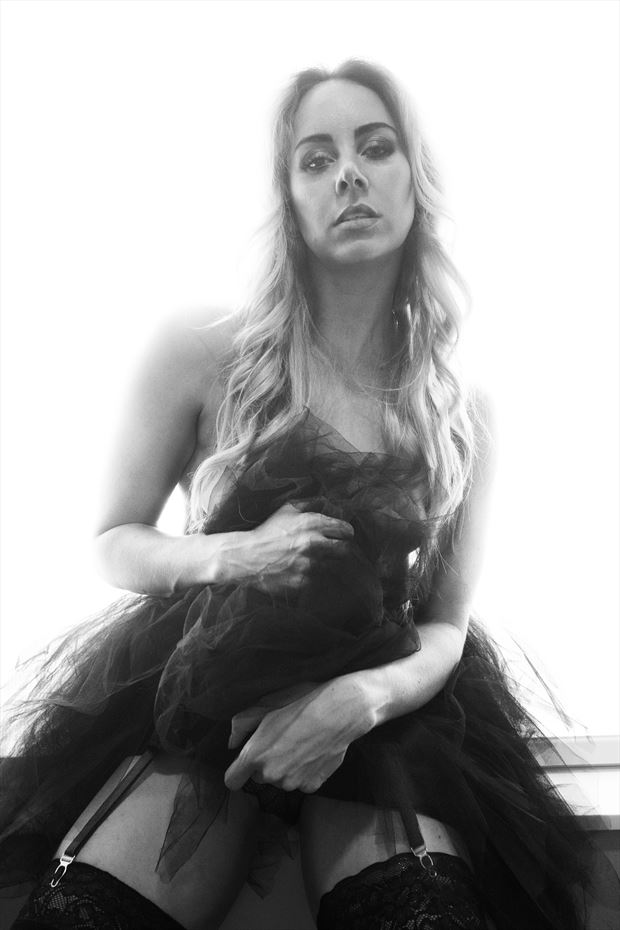 dancer lingerie photo by model alexandra queen