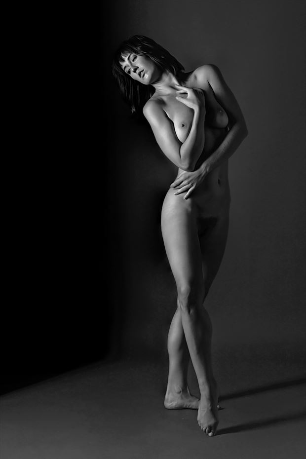 dancer s repose artistic nude photo by photographer philip turner
